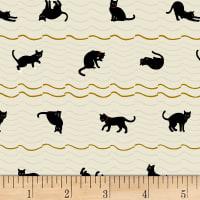 Quilt Gate Neko IV Metallic Cat Roof Stripe Natural