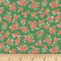 Quilt Gate Ruru Bouquet Florette Bouquet Toss Green
