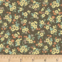 Quilt Gate Ruru Bouquet Florette Bouquet Toss Brown