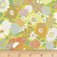 Quilt Gate Ruru Bouquet Florette Blooms Yellow