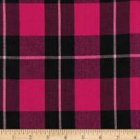 Cambridge Rayon Yarn-Dyed Plaids Pink/Black