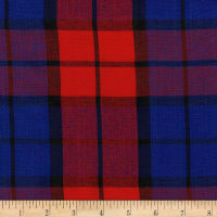 Cambridge Rayon Yarn-Dyed Plaids Red/Blue