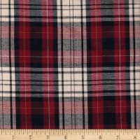 Cambridge Rayon Yarn-Dyed Plaids Navy/Wine/Cream