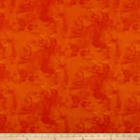 Fabric Editions Fluid Textured Orange 1