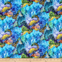 Fabric Editions Mystic Ocean Coral Reef