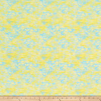 Fabric Editions Mystic Ocean Reflection Yellow