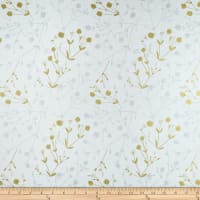 Hoffman Sparkle & Fade Foliage Metallic White