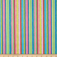 Andover/Makower UK Ellie Dotty Stripe Bright