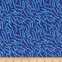 M&S Textiles Bush Medicine 2 Blue