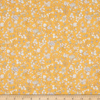 Lecien Memoire A Paris 2018 Lawn Tossed Floral Yellow