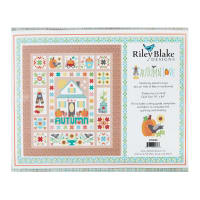 "Riley Blake Autumn Love 74"" x 84"" Quilt Kit Multi"