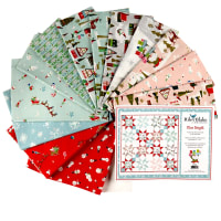 "Riley Blake Starbright by Melissa Mortenson 61"" Quilt Kit Multi"
