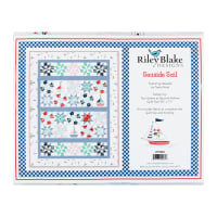 "Riley Blake Seaside Sail 54"" x 71"" Quilt Kit"