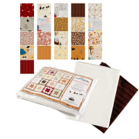 "Penny Rose American Honey 70"" x 87.5"" Quilt Kit Multi"