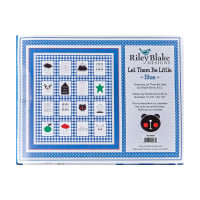 "Riley Blake Let Them Be Little 73.5"" x 81.5""  Quilt Kit Blue"