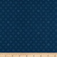 Andover Spots and Dots Navy