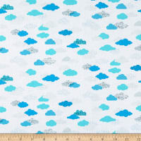 Dear Stella Flight Pattern On Cloud Nine White