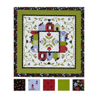 Penny Rose Around the Town Quilt Kit