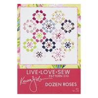 Riley Blake Dozen Roses Quilt Kit Fruitful Pleasures