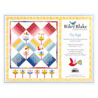 Riley Blake Fly High Quilt Kit with Laser Cut Fusible Applique