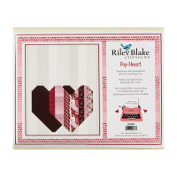 Riley Blake Pop Heart Quilt Kit in Hello Sweetheart