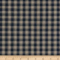 Homebas Homespun Plaid Navy