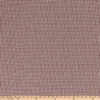 Homebas Homespun Small Check Burgundy