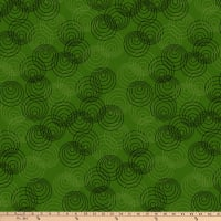 P&B Textiles Bear Essential 4 Circles Green