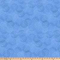 P&B Textiles Bear Essential 4 Circles Light Blue