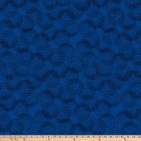 P&B Textiles Bear Essential 4 Circles Navy