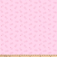 P&B Textiles Bear Essential 4 Double Boxes Pink
