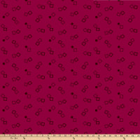 P&B Textiles Bear Essential 4 Double Boxes Reddish Violet