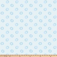 P&B Textiles Bear Essential 4 New Geo Light Blue