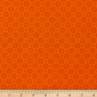 P&B Textiles Bear Essential 4 Dots Geo Orange