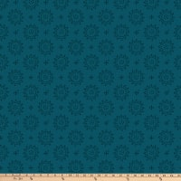 P&B Textiles Bear Essential 4 Dots Geo Teal