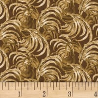 Chicken Scratch Feather Texture Brown