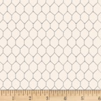 Chicken Scratch Chicken Wire Ivory