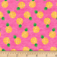 Home Sweet Pineapples Pink