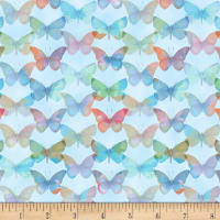 Papillion Parade Tonal Butterfly Light Blue
