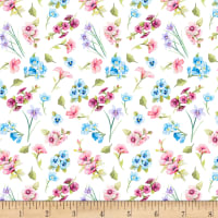Papillion Parade Small Floral White