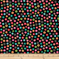 QT Fabrics Christine Graf Jamboree Dot Geometric Black