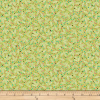 QT Fabrics Christine Graf Jamboree Leaf & Dots Light Green