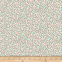 QT Fabrics Christine Graf Jamboree Mini Scroll Cream