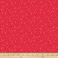 QT Fabrics Christine Graf Jamboree Mini Scroll Red