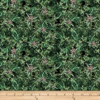 QT Fabrics Desiree North Woods Neighbor Pine Black