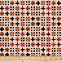 QT Fabrics Desiree North Woods Neighbor Plaid Brown