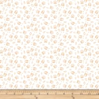 QT Fabrics Desiree North Woods Neighbor Animal Tracks White