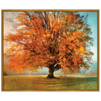 "QT Fabrics  Artworks Autumn 36"" Tree Panel Multi"