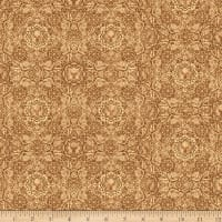 QT Fabrics Timberland Trail Lodge Medallion Light Brown