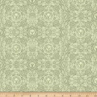 QT Fabrics Timberland Trail Lodge Medallion Light Sage